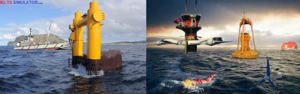 IELTS LISTENING – Marine renewable energy (ocean energy) S16AT4