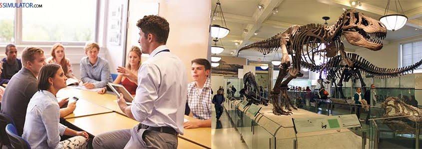 IELTS SIMULATOR ONLINE GENERAL TRAINING LISTENING EASY DEMO – The Dinosaur Museum S22GT2 FREE COMPUTER DELIVERED ONLINE IELTS SIMULATION